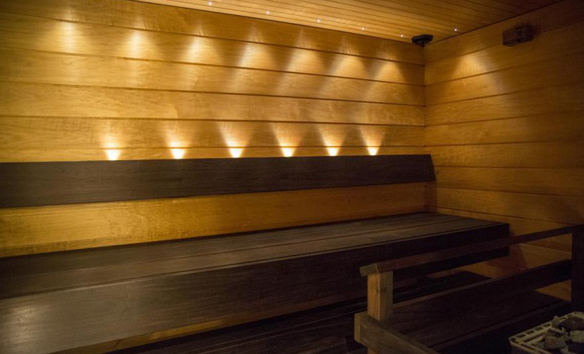 rouvien sauna